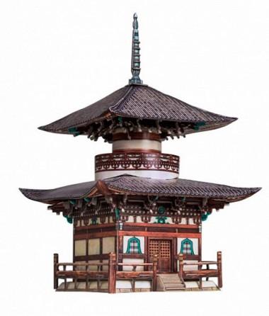 Пагода Хонпо-дзи Умная бумага