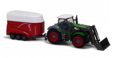 Трактор с ковшом и полуприцепом 1:28, 6 каналов