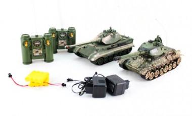 Танковый бой на радиоуправлении Т-34 и Тигр