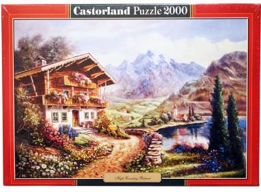 Пазл «Дом в горах»