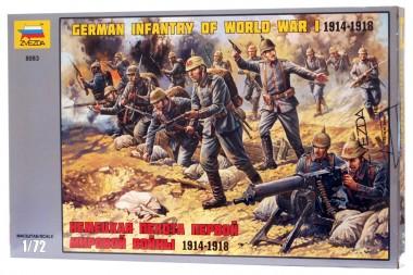 Немецкая пехота Первой Мировой войны звезда