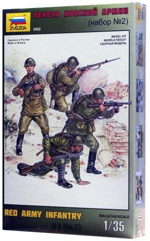 Пехота Красной Армии модель
