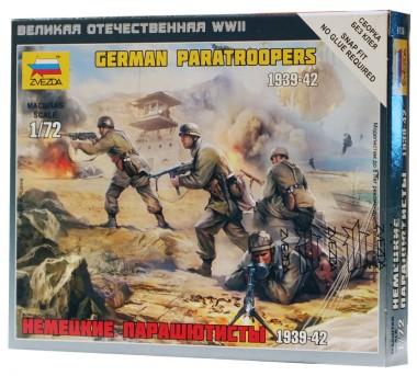 Немецкие парашютисты звезда