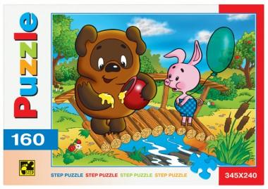 Пазл «Винни Пух». Step Puzzle 160