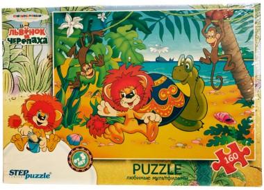Пазл Львенок и черепаха Step Puzzle 160