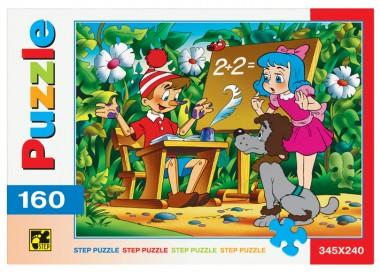 Пазл «Буратино». Step Puzzle 160