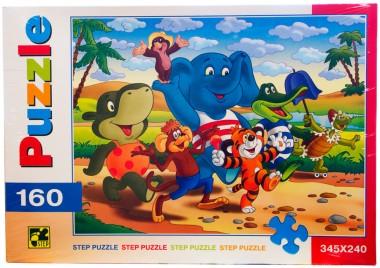 Пазл По дороге с облаками Step Puzzle 160