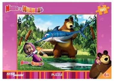 Пазл «Маша и Медведь». Step Puzzle 160
