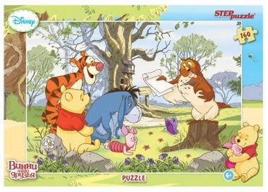 Пазл «Винни и его друзья». Step Puzzle 160