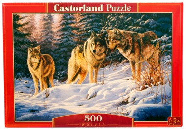 Волки Castorland