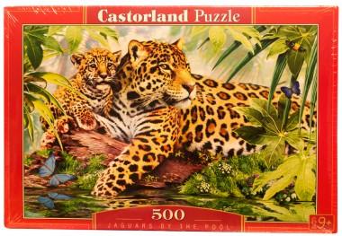 Castorland Ягуары у воды