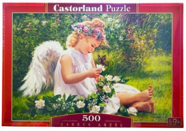 Пазл Ангел в саду Castorland 500
