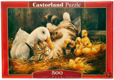 Пазл Друзья Castorland 500