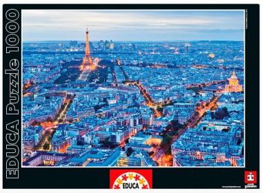 Пазл Огни Парижа