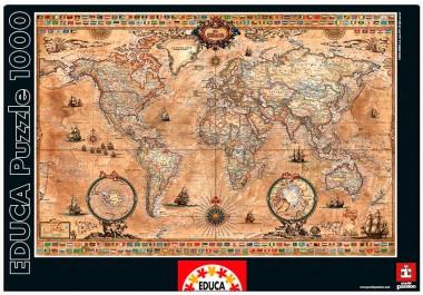 Пазл Античная карта мира