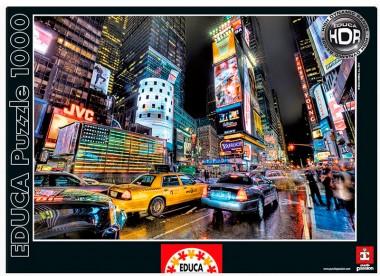 Пазл Таймс Сквер, Нью-Йорк HDR