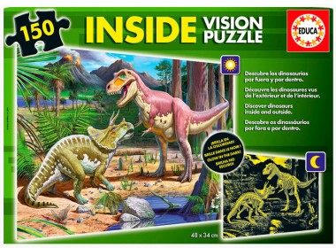 Пазл Динозавры educa