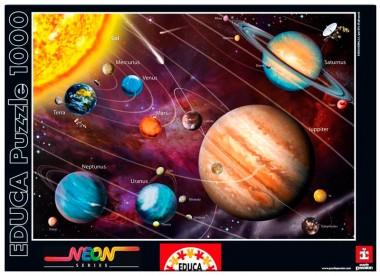 Пазл Солнечная система светящийся