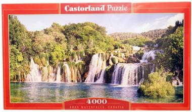 Пазл Водопады Крка.Хорватия
