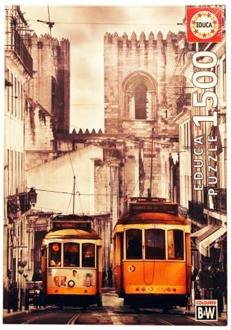 Пазл Район Альфама Лиссабон