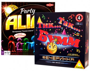 Alias Party + Тик так бум вечеринка набор