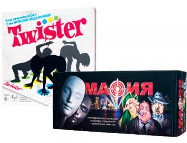 Мафия + Twister (набор)