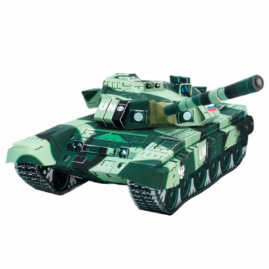 Модель Танк Т-90 Умная бумага