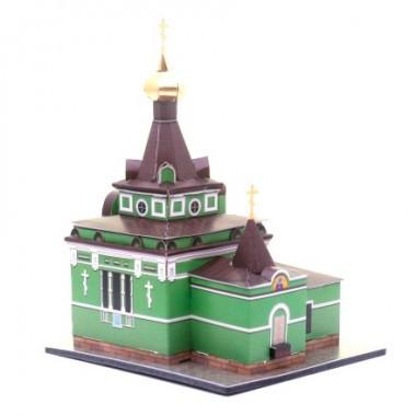 Модель Часовня Ксении Петербургской Умная бумага