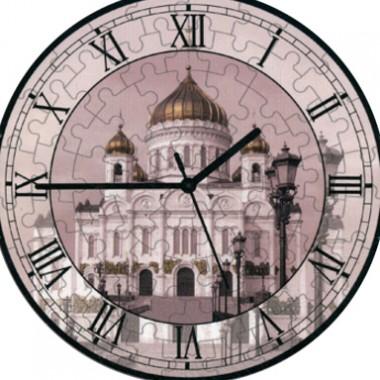 Часы-пазл Храм Христа Спасителя