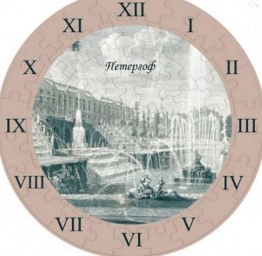 Часы-пазл Петергоф