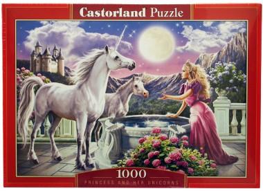 Пазл Принцесса и ее единорог Castorland
