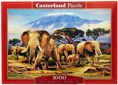 Пазл Слоны Castorland