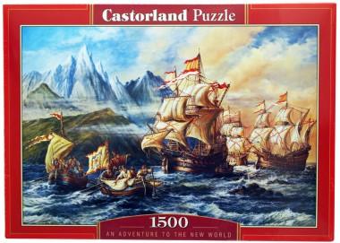 Пазл Приключения в Новом Свете Castorland
