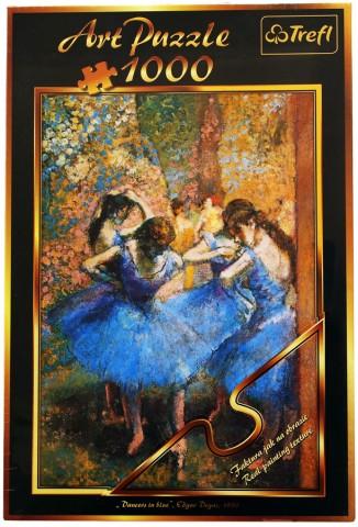 Пазл Голубые танцовщицы Trefl 1000 элементов