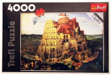 Пазл Вавилонская башня Trefl 4000