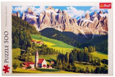 Пазл Доломиты, Италия Trefl 500