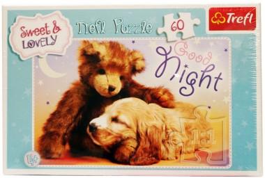 Сладкие и прекрасные Спокойной ночи Trefl 60