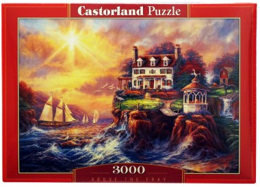 Пазл Дом на берегу Castorland 3000
