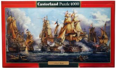 Пазл Морской бой Castorland 4000