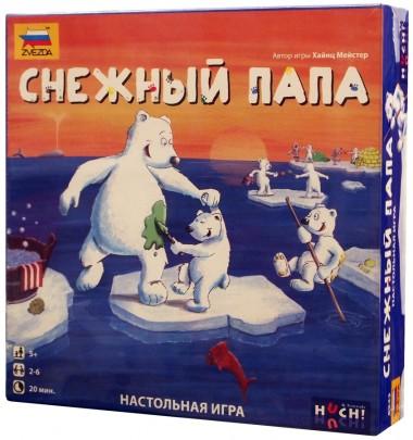 Снежный папа игра