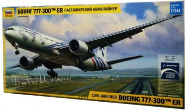 Боинг-777 сборная модель