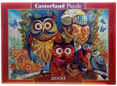 Пазл «Совы». Castorland 2000