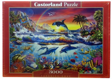 Пазл «Райская бухта». Castorland