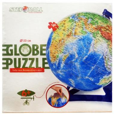Глобус-пазл географическая карта