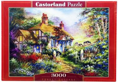 Castorland 3000 арт.C-300402 Коттедж в лесу
