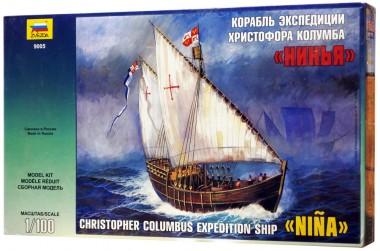 Сборная модель корабля Колумба арт.9005