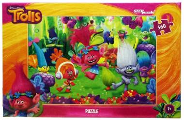 Пазл «Trolls». Step Puzzle 560 элементов