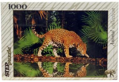 Пазл Леопард у воды