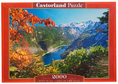 Пазл Озеро в Альпах C-200399