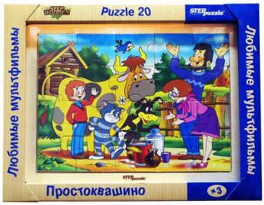 Деревянный пазл Простоквашино арт.89711